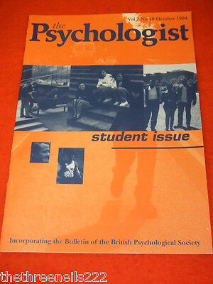 The Psychologist - Student Issue - Oct 1994