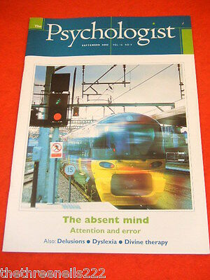 The Psychologist - The Absent Mind - Sept 2003