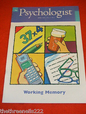 The Psychologist - Working Memory -  April 1999