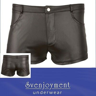 Svenj. Wetlook Master Boxer Shorts Pants Classic Nature eng GEIL SEXY in S - 2XL