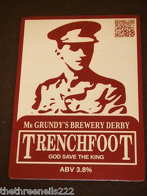 Beer Pump Clip - Mr Grundy's Trenchfoot