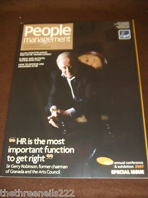 People Management - Sir Gerry Robinson - Sept 20 2007