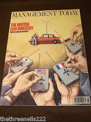 Management Today - British Car Industry - Aug 1994