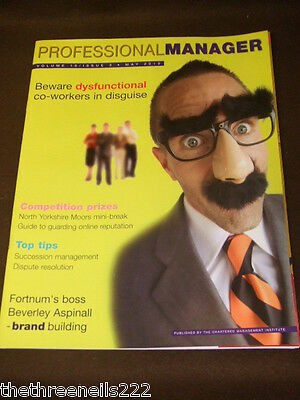 Professional Manager - Dysfunctional Co-Workers - May 2010
