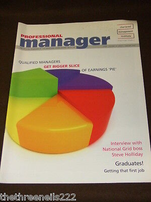 Professional Manager - National Grid - Jan 2009