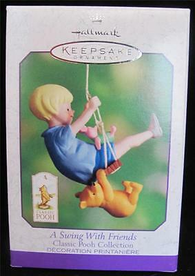 2000 Hallmark Spring A Swing with Friends Classic Pooh Collection