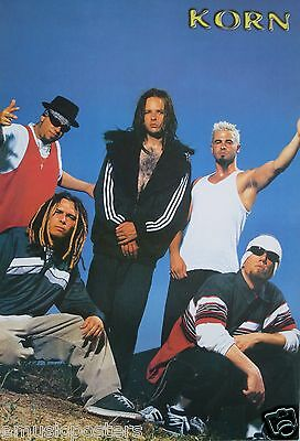 """KORN """"BAND POSING WITH ARMS UP"""" POSTER FROM ASIA - Nu & Alternative Metal Music"""