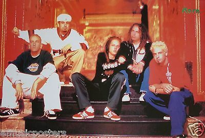 """KORN """"BAND SITTING ON STEPS"""" POSTER FROM ASIA - Nu & Alternative Metal Music"""