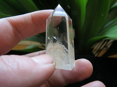 "145ct  1.85"" NATURAL many phantom pyramid all contain quartz crystal  point heal"