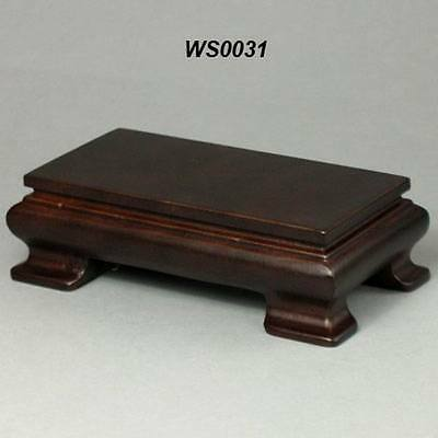 Wood Stand For Figurine, Netsuke Carving Display WS0031