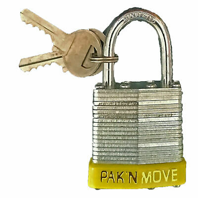 Moving PadLock 1-1/2 inches Heavy Duty Padlock for moving and storage