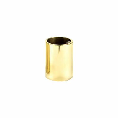 Jim Dunlop Brass Guitar Slide, Medium wall, Short knuckle *NEW* 19x22x28