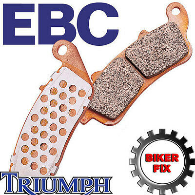 TRIUMPH Tiger 800 With ABS 11-13 UPRATED EBC Rear Disc Brake Pads FA140HH