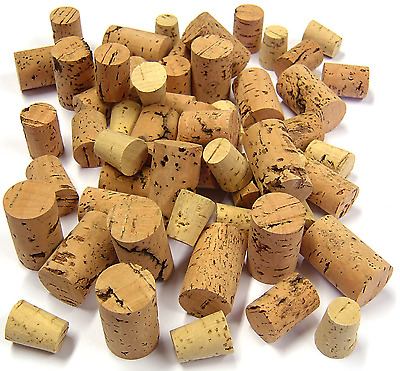 100g OF ASSORTED MIXED SIZE CORK PIECES FISHING FLOATS ART CRAFT MODELLING M/B
