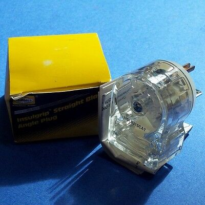 Hubbell 125V 15A 2 Pole 3 Wire Hospital Grade Plug, Hbl8315Cat *New*