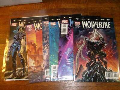 Wolverine The End #1-6 Set, #1, 2, 3, 4, 5, 6