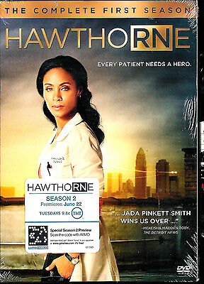 HawthoRNe: The Complete First Season (DVD, 2010, 3-Disc Set) SEALED BRAND NEW