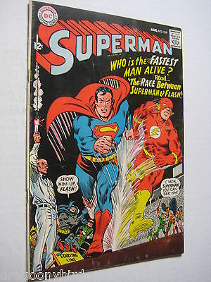 Vintage Old Collectible DC Comic Superman 199 FN