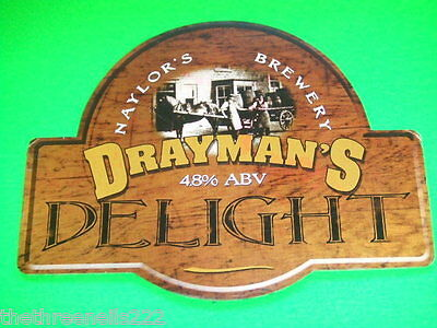 Beer Pump Clip - Naylor's Drayman's Delight