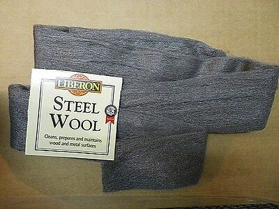 NEW Top Quality Liberon Steel Wire Wool 00 Superfine - 1 Meter Pack FREE POST