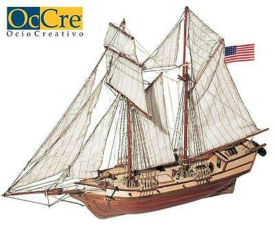 OcCre/Domus Albatros schooner ship wood model KIT new