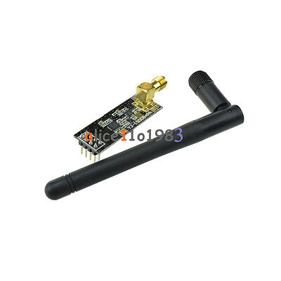 NRF24L01+PA+LNA SMA Antenna Wireless Transceiver communication module 2.4G 1100m