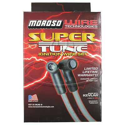 MADE IN USA Moroso Super-Tune Spark Plug Wires Custom Fit Ignition Wire Set 9341