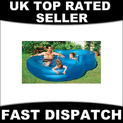 Outdoor Family Inflatable Infinity Pool Paddling Swimming Water Kids Childrens