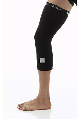 Santini Totem Lycra Cycling Knee Warmers