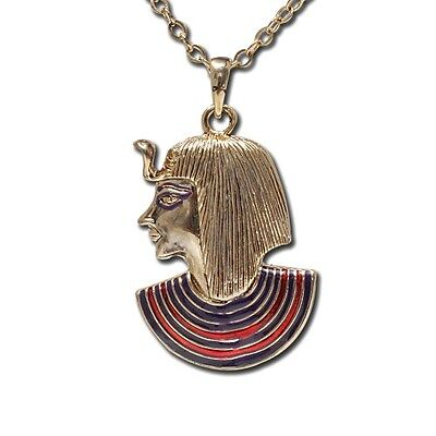 Egyptian Pharaoh King Tut Pendant Necklace Jewelry. Egypt Jewelry