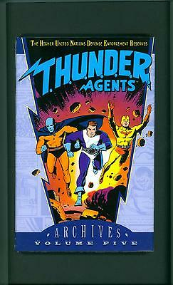 THUNDER AGENTS ARCHIVES VOLUME 5 ~ 2004 ~ T.H.U.N.D.E.R.  AGENTS ~ ARCHIVE