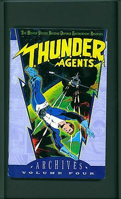 THUNDER AGENTS ARCHIVES VOLUME 4 ~ 2004 ~ T.H.U.N.D.E.R.  AGENTS ~ ARCHIVE