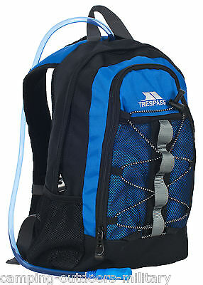 NEW TRESPASS 2 L Hydration Pack Water & 15L Rucksack Backpack