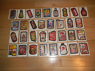 2010 Topps Wacky Packages Old School 1st Series 1 Complete Master Set