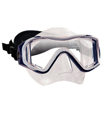 Oceanic USA Warrior Line Ion 3X Scuba Diving Mask with Neoprene Comfort Strap