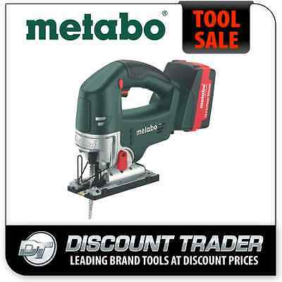 Metabo 18 Volt 4.0Ah Lithium-Ion Cordless Jig Saw Kit - STA 18 LTX