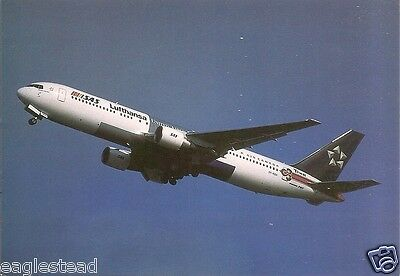 Airline Postcard - SAS - B767 383ER - OY-KDH - Star Alliance Livery (P2755)