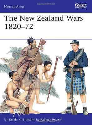 The New Zealand Wars, 1820-72 (Men-at-arms) - Paperback NEW Knight, Ian 2013-03-