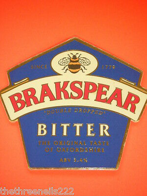 Beer Pump Clip - Brakspear Bitter