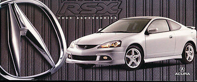 ACURA SALES Brochure Tl Tsx Rl Rsx Mint Original X - 2005 acura tl accessories