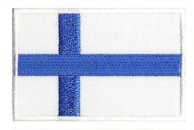 Patche écusson patch thermocollant Finlande Finland 85x55mm brodé