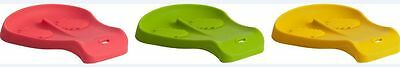 Trudeau 3 in 1 Dual Spoon Rest No Mess Green Yellow Red NEW