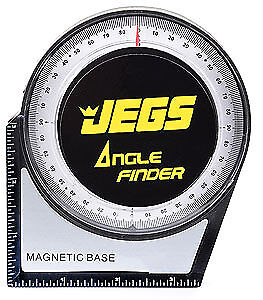 JEGS Performance Products 81645 Angle Finder and Level 3-1/2""