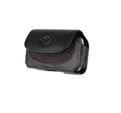 Leather Carrying Case Cover Pouch Belt Loops w Clip for Verizon Phones