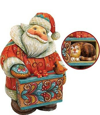 G DeBrekht Curious Kitty Santa Box 900 Piece Limited Edition 5 inch 519175