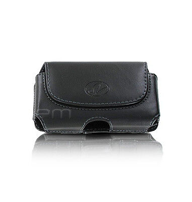Premium Leather Pouch Case Cover Clip - Click to see full compatibility list