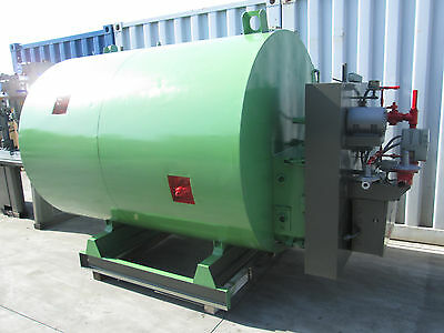 1993 Sellers Model Bt - 12 - 1000 Boiler / Water Heater 1,200,000 Btuh 30 Hp