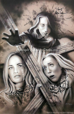 Night of the Living Dead - Cast/Artist Signed 11x17 Print!
