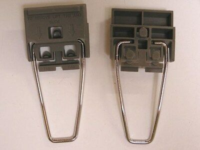Set of 2 Instrument Feet w/wire bails HP/AT Dark Grey