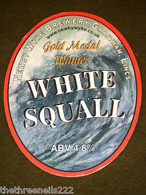 Beer Pump Clip - White Squall